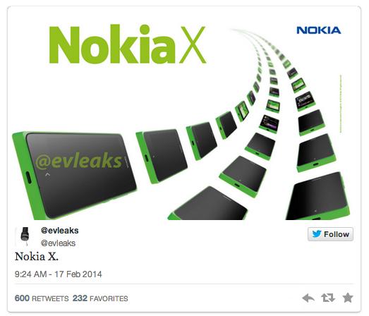 Nuevo Nokia X Android